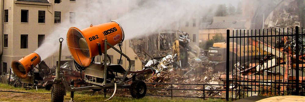 Dust Suppression Equipment for Rent