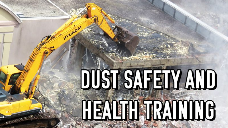 Dust Control Safety Issues and Health Training | BossTek