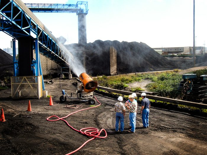 Fight Coal Dust at Electric Plant Dust Suppression