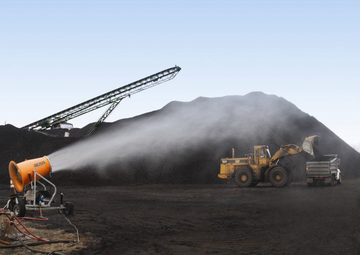 Coal Transfer Station Dust Control
