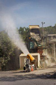 dust control mining
