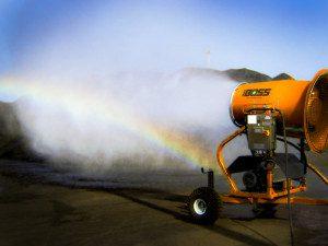dust suppression petcoke