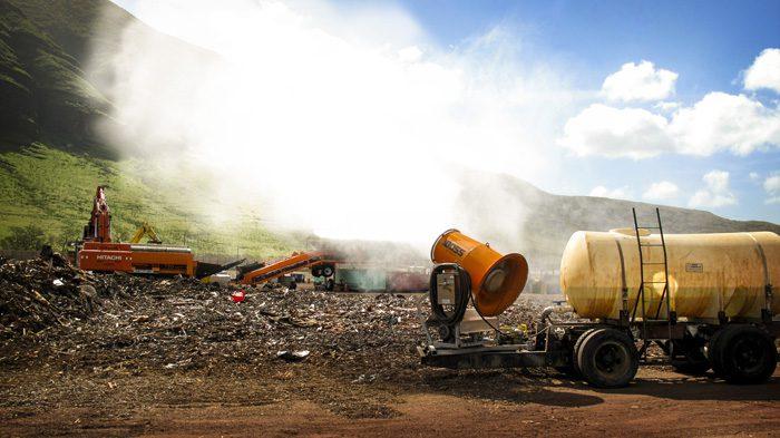 Hawaii Landfill Dust Control