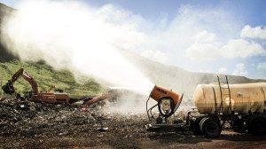 landfill dust suppression