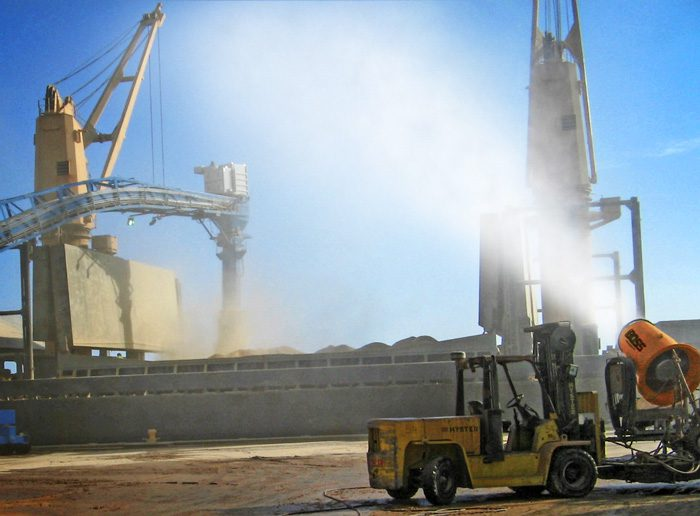 Dust Suppression at the Port of Panama City