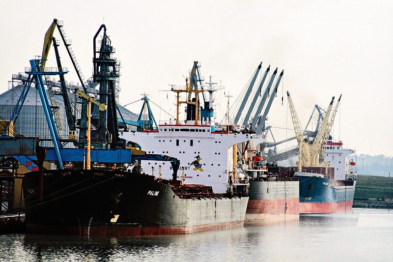 Dust Control at Ukraine Port Facility