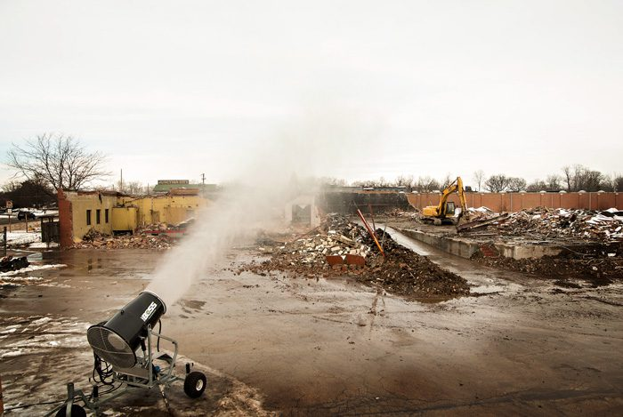 demolition dust control solutions