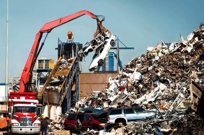 Dust Control at Metal Recycler Shredder