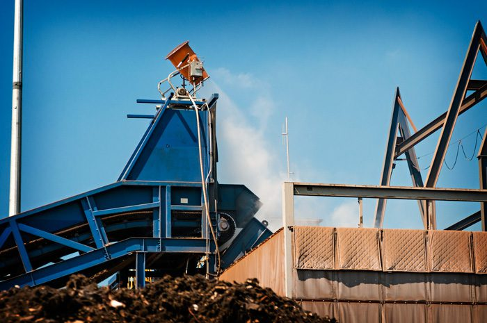 Dust Suppression at Metal Recycler