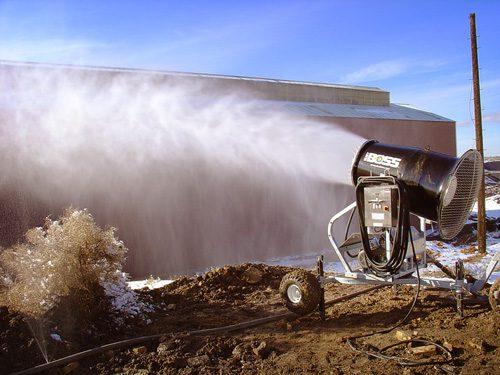 Environmental Site Remediation Dust Control
