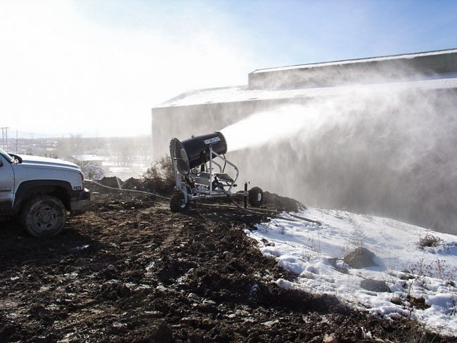 Environmental Site Remediation Implementing Dust Suppression