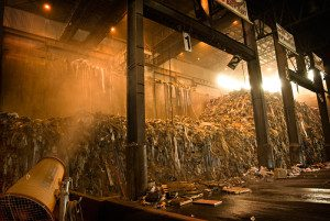 waste to energy dust suppression