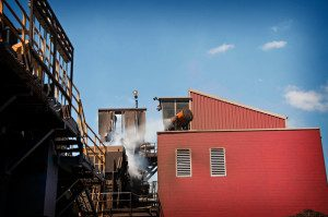 metal recycling dust suppression
