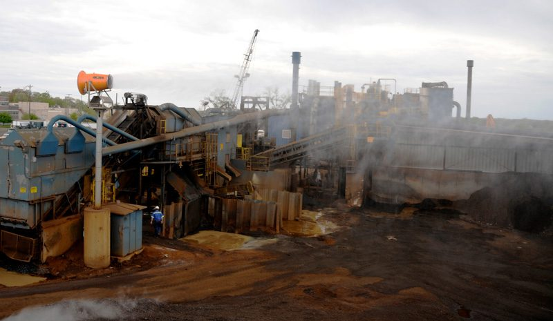 DustBoss Tower Controls Scrap Recycling Dust