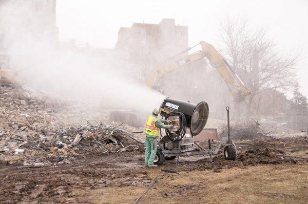demolition dust suppression equipment
