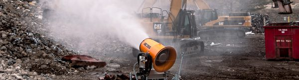 DustBoss Dust Control System Saving Water