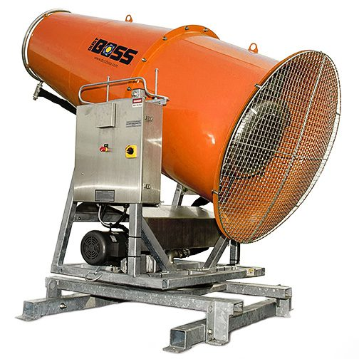 DB-100 dust control machine