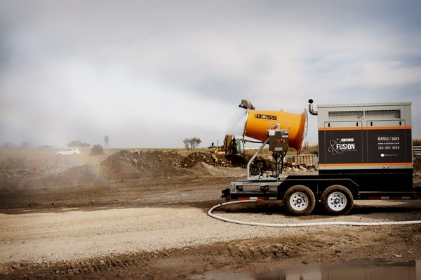 mobile dust suppression system