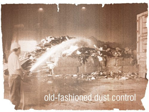 old-fashioned dust control