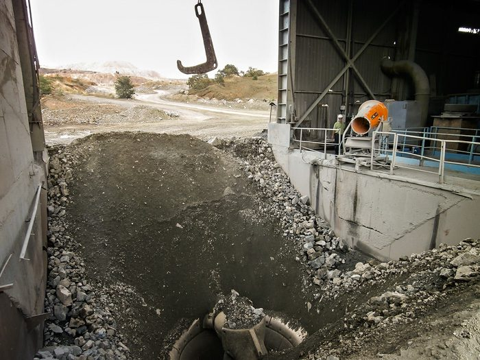 Copper Mine Dust Control System