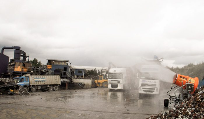 Mobile dust suppression in the UK