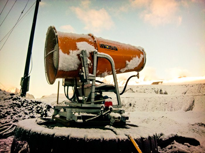 Dust Suppression System Able to Run in Freezing Temperatures