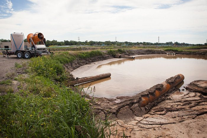 wastewater treatment odor control
