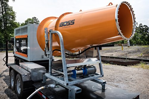 DB-100 Fusion dust suppression unit