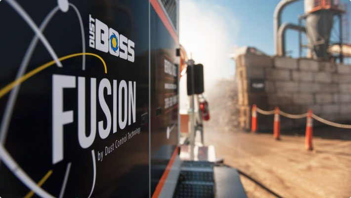 Fusion at scrap recycling to stop dust