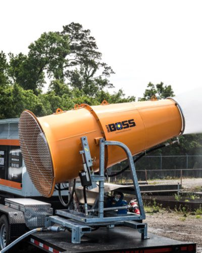 Our biggest dust control cannon is unleashed