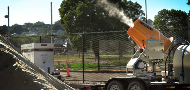 Odor Control System Implementing Chemical On-Site