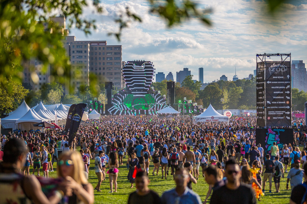 Electric Zoo 2016 open area