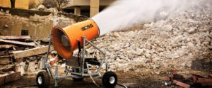 The DustBoss 60 is BossTek's OSHA Compliance Silica Dust Suppressor. Silica dust control has never been easier.