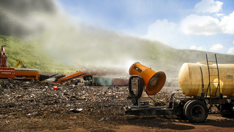Topical Odor Control at a Landfill