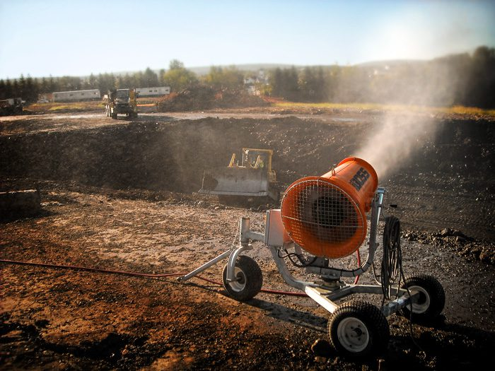 Dust Suppression System Slashes Costs for Recycling Facility Cleanup