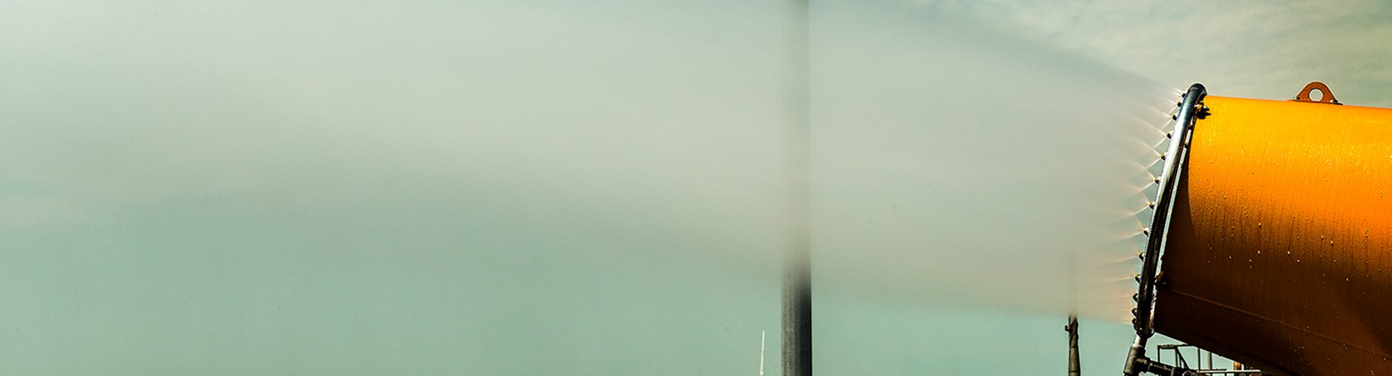 DustBoss Atomized Mist Cannon for OSHA Silica Dust Deadline