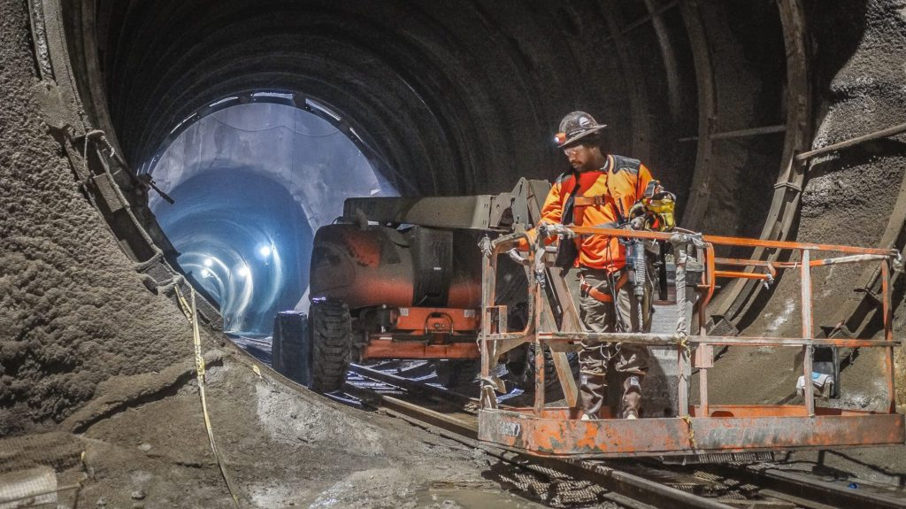 NYC Subway Tunnel Construction Dust Suppression