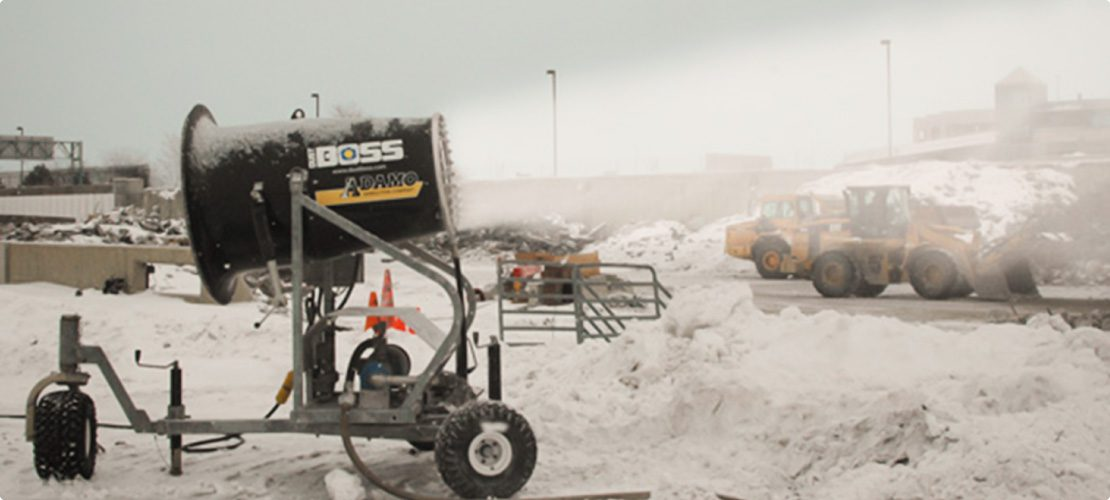 DustBoss-DB-60-providing-dust-suppression-during-winter-snow