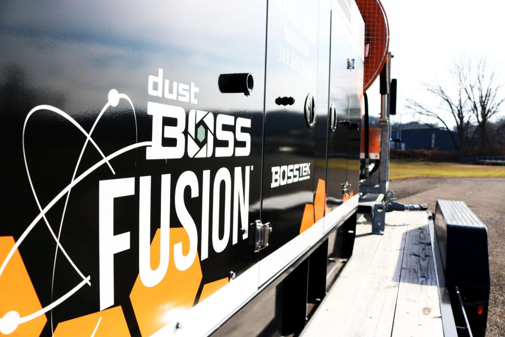 DustBoss Tier IV Fusion Self Powered Dust Control