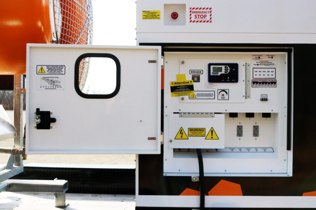 DustBoss DB-60 Fusion Generator Controls