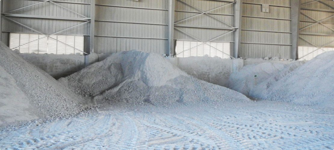 Dust control in the life of gypsum
