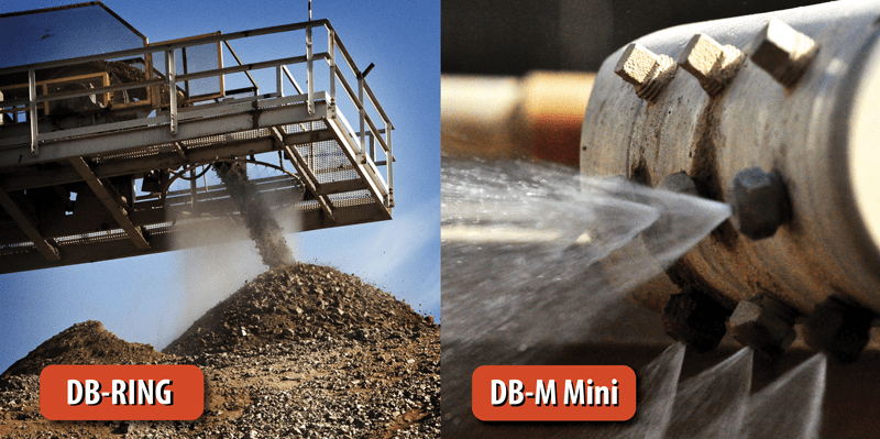 DB-Ring and DB-M Mini for Dust Control