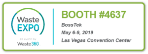 BossTek at WasteExpo 2019