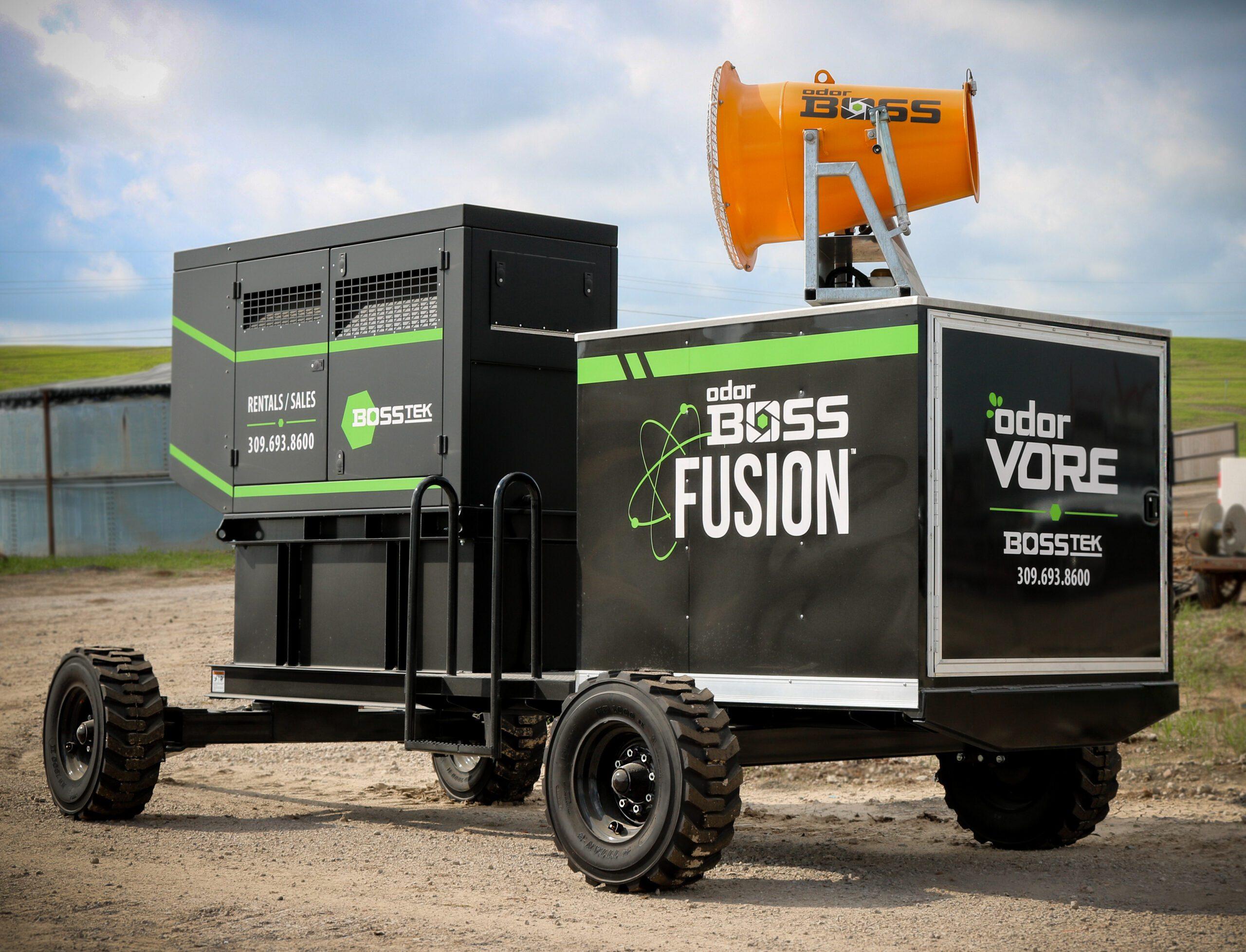 OdorBoss Fusion Mobile Odor Control Equipment