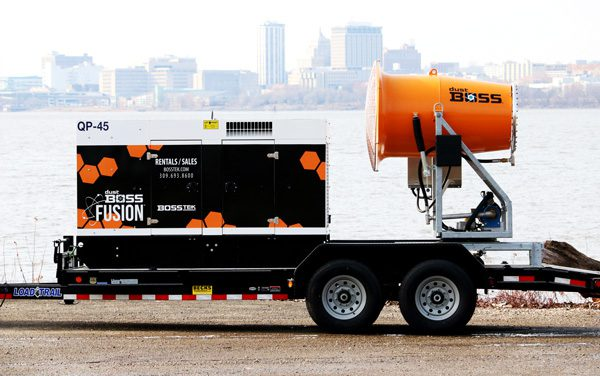 DustBosss DB-60 Fusion for Demolition Dust