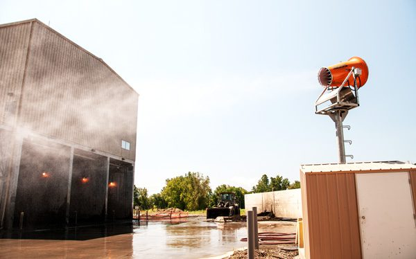 DustBoss DB-60 Tower for Demolition Dust Control
