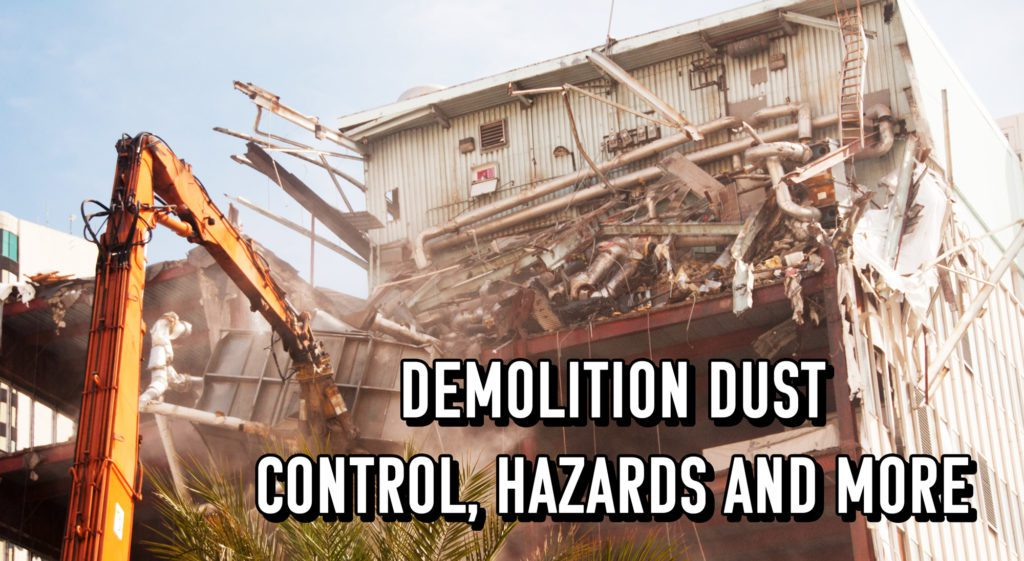 Demolition Dust: Control, Hazards, and More | BossTek