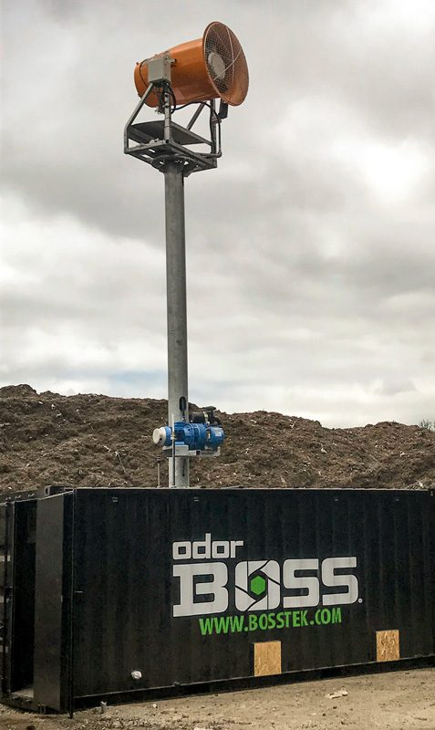 OdorBoss Tower for Landfills
