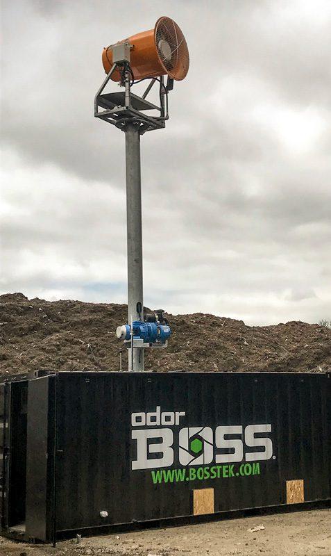 OdorBoss Tower for Landfills