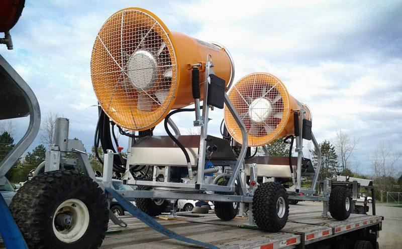 Dust Control Equipment Shipments